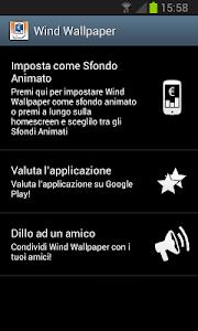 Credito Wind Live Wallpaper screenshot 2