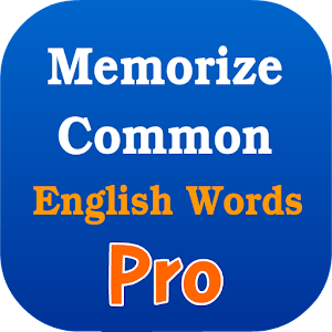 Memorize Common Eng Words Pro