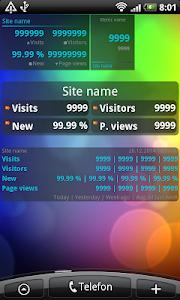 Analytics Widget screenshot 1
