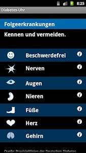 Diabetes-Uhr screenshot 2