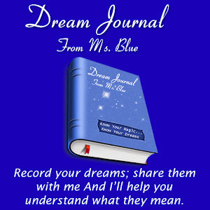 Dream Journal From Ms Blue