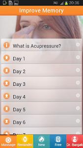 Memory Trainer - Acupressure. screenshot 5