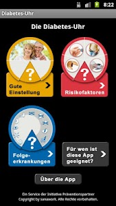 Diabetes-Uhr screenshot 1
