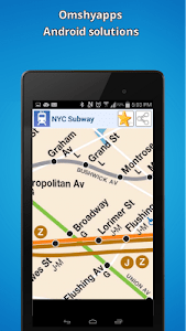 New-York city subway map (NYC) screenshot 1