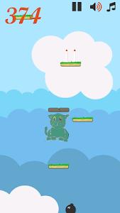 Jumping Doodle Cat screenshot 1