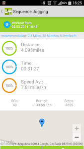 Sequence Jogging screenshot 1