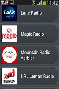 Radio Suisse screenshot 4