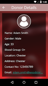 RED DONORS‏ screenshot 5