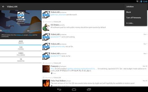 Plume for Twitter screenshot 09