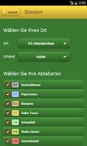 AWB Altenkirchen Abfall-App screenshot 1