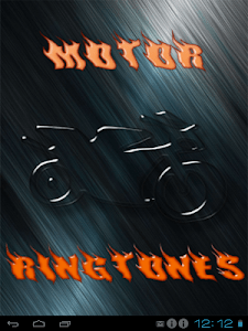 Motor Ringtones and Wallpapers screenshot 0
