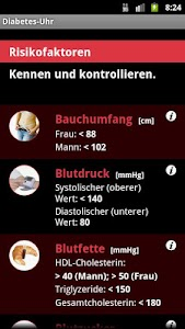 Diabetes-Uhr screenshot 3