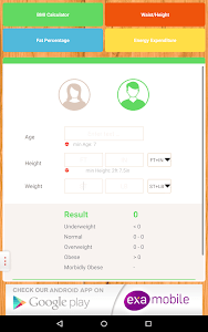 BMI Calculator: weight loss screenshot 7