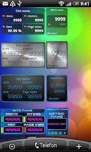Analytics Widget screenshot 0