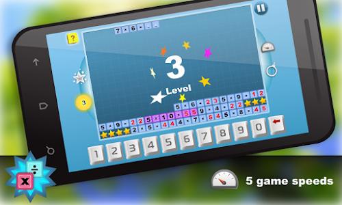 Math.Multiplication table Free screenshot 1