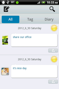 Motion Diary screenshot 0