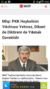 MHP Haberleri screenshot 7