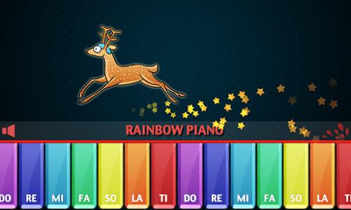 Rainbow Piano screenshot 1