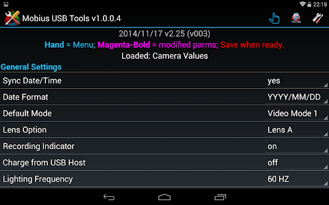 Mobius USB Tools screenshot 13