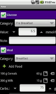 DiaLog: Diabetes Logbook screenshot 1