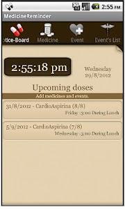Medicine Reminder screenshot 0