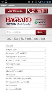 Hagyard Mobile Formulary screenshot 1