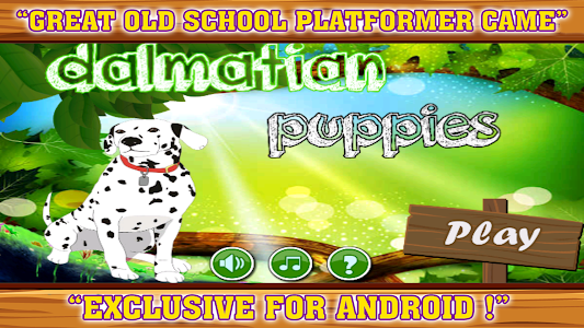 Dalmatian puppies game screenshot 0