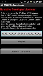 SD-TOOLKIT® Barcode SDK screenshot 0