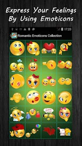Romantic Emoticons Collection screenshot 2