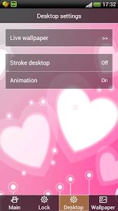 Hearts screen Lock wallpaper screenshot 2