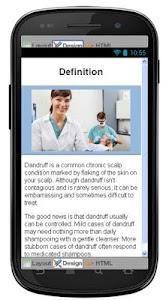 Dandruff Disease & Symptoms screenshot 1