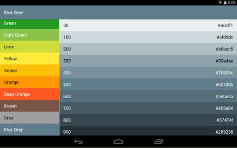 Material-Design-Colors screenshot 5
