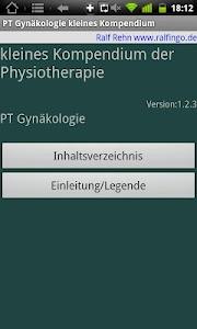 Physiokompend. PT Gynäkologie screenshot 7