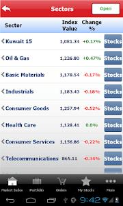 Gulf Bank Mobile Trader screenshot 21