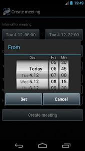 Smart Meeting Planner screenshot 2