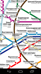 Moscow Subway Map screenshot 0