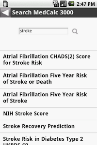 MedCalc 3000 Neurology screenshot 7