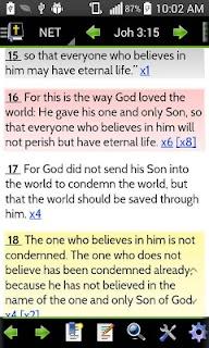MySword Bible screenshot 01