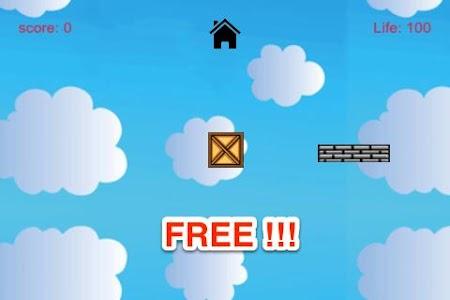 Jumpy Box: Cloudy Sky Fly Free screenshot 2