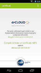 drCLOUD Certificati screenshot 0