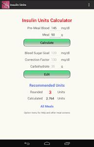 Insulin Units screenshot 6