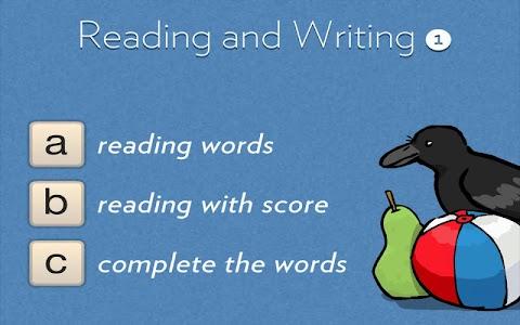 Reading & Writing 1 screenshot 0