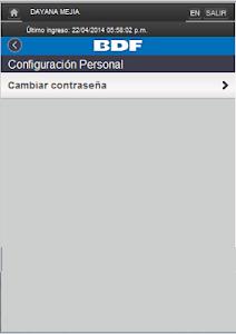iBDF Móvil screenshot 4