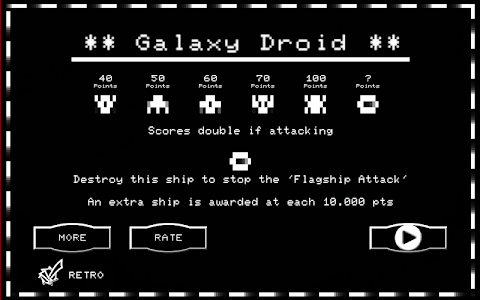 Galaxy Droid screenshot 1