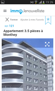 Le Nouvelliste immo screenshot 1