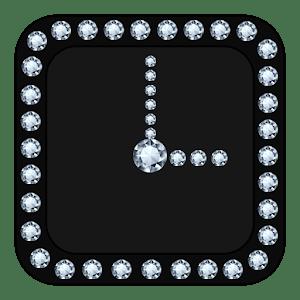 Diamond Clock Widget