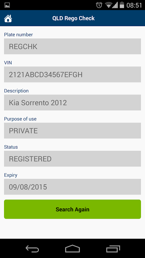 Free Car Registration Check Queensland