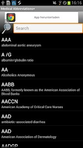 Medical Abbreviations+ screenshot 0