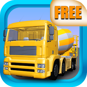 Cement Truck Driving 3D FREE