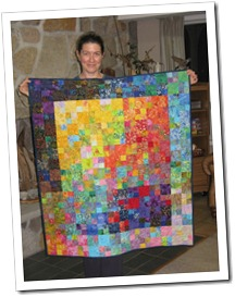 smaller wake up quilt